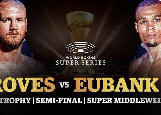 Groves v Eubank JR Boxing
